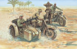 Italeri 6121 German Motorcycles
