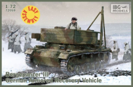 IBG 72059 Bergepanzer III German Armoured Recovery Vehicle (ARV)