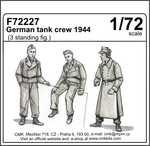 CMK F72227 German tank crew 1944