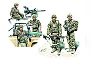 MB 35180 Modern UK Infantrymen, present day.