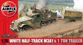 Airfix A02318 White Half-Truck M3A1 & 1 ton trailer