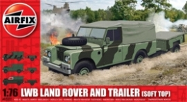 Airfix A02322 LWD Land Rover and Trailer
