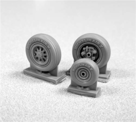 Squadron Products TDP72203 F-35A Lightning II Wheel Set