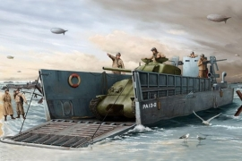 Trumpeter 347 WW2 US Navy LCM 3