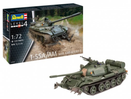 Revell 3328 T-55A/AM with KMT-6/EMT-5