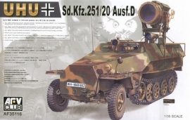 AFV Club 35116 Sd.Kfz.251/20 Ausf.D