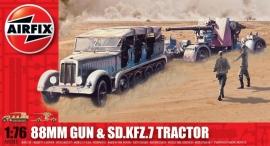 Airfix A02303 88 mm Gun & Sd.Kfz.7 Tractor