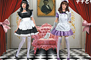 MB 35186 Maid café girls. Nana and Momoko