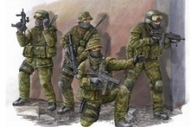 Trumpeter 422 Modern German KSK Commandos