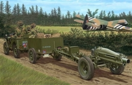 Bronco CB35163 British Airborne 75 mm Pack Howitzer
