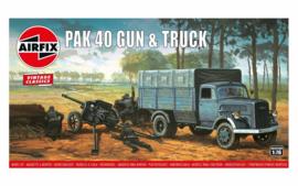 Airfix A02315V Pak 40 Gun & Truck