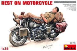 Mini Art 35176 Reset On Motorcycle