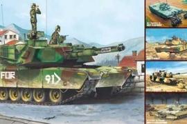 Trumpeter 1535 M1A1/A2 Abrams