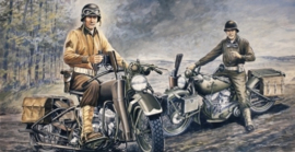 Italeri 322 US Motorcycles