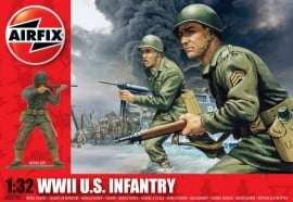 Airfix A02703 WWII US Infantry