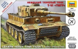 "Zvezda 5002 German heavy tank ""Tiger I"""