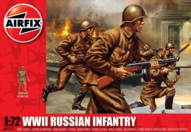 Airfix A01717 WWII Russian Infantry