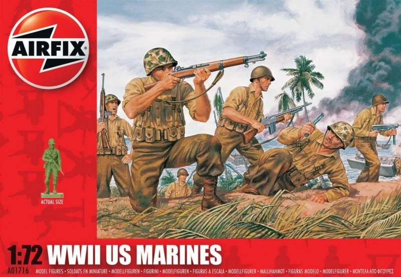 AIRFIX SONDERPREIS 1:72 FIGUREN A01718 WWII Japanese Infantry