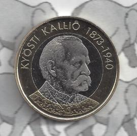 "Finland 5 euromunt 2016 (54e) ""Presidenten, Kallio"""