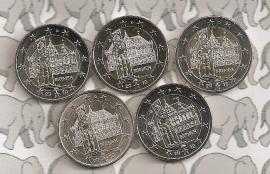 "Duitsland 2 euromunt CC 2010 ""Bremen"" (5 letters)"