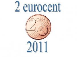 Luxemburg 2 eurocent 2011