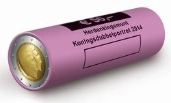 """Nederland 2 euromunt CC 2014 """"Koningsdubbelportret"""" in rol"""