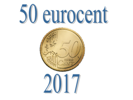 Luxemburg 50 eurocent 2017
