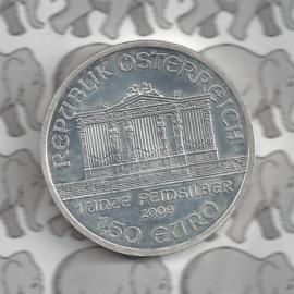"""Oostenrijk 1,5 euromunt 2009 """"Wiener Philharmoniker"""""""