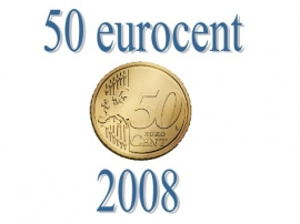Luxemburg 50 eurocent 2008