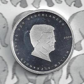 "Nederland 5 euromunt 2015 (29e) ""Waterloo  vijfje"" (los)"