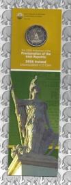 """Ierland 2 euromunt CC 2016 """"100 jaar sinds de Paasopstand van 1916"""", als boekenlegger"""