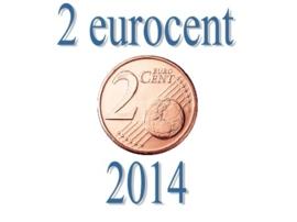 Spanje 2 eurocent 2014