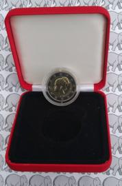 """Monaco 2 euromunt CC 2007 (1e) """"Grace Kelly"""",BU in doosje"""