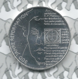 "Duitsland 20 euromunt 2017 (7e) ""500 jaar hervormingen"", zilver"