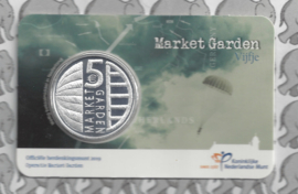 "Nederland 5 euromunt 2019 (43e) ""Market garden vijfje"" (in coincard)"