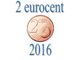 Luxemburg 2 eurocent 2016