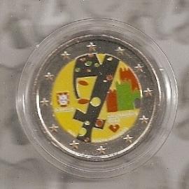 """Portugal 2 euromunt CC 2012 """"Guimaeres"""" (kleur 1)"""