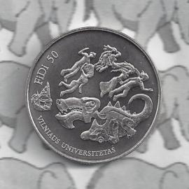 """Litouwen 1,5 euromunt 2018 """"Fidi 50"""" (3e)"""