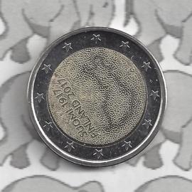 """Finland 2 euromunt CC 2017 (22e)""""100 jaar onafhankelijkheid"""""""