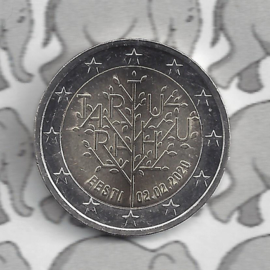 "Estland 2 euromunt CC 2020 (10e)""100 jaar Vrede van Tartu"""
