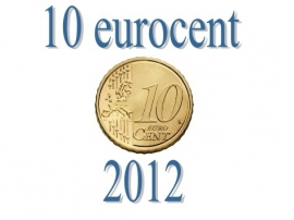Luxemburg 10 eurocent 2012