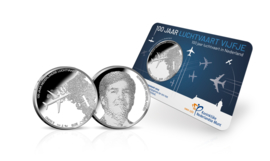"Nederland 5 euromunt 2019 ""Luchtvaart vijfje"" (41e, in coincard)"