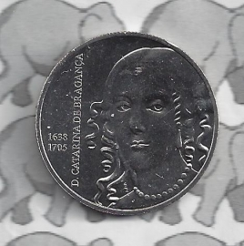 "Portugal 5 euromunt 2016 (17e) ""Catharina de Braganca"""