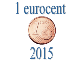 Luxemburg 1 eurocent 2015