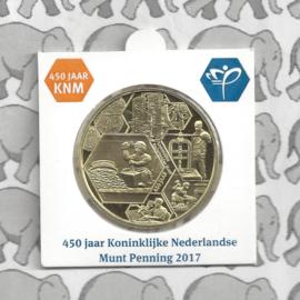 "Nederland munthouder 2017 ""450 jaar Koninklijke Nederlandse Munt"""