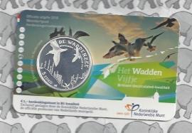 "Nederland 5 euromunt 2016 (31e) ""Waddenvijfje"" (BU, met nummer in coincard)"