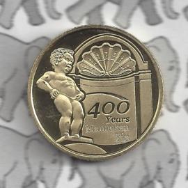 """België 2,5 euromunt 2019 """"400 jaar Manneken Pis"""""""