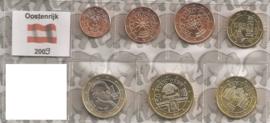 Oostenrijk UNC serie 2009 (7 munten)