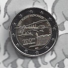 "Malta 2 euromunt CC 2015 ""1e vlucht van Malta 1915"""