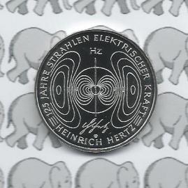 "Duitsland 10 euromunt 2013 (5e) ""Elektrischer kraft, Heinrich Hertz"" (nikkel)"